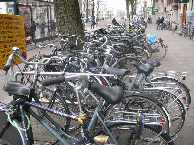 Time-less-image Cycling Amsterdam