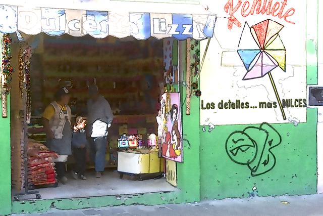 Time-less-image curiosity Cholula Mexico