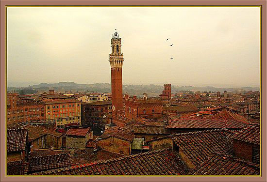Time-less-images Sienna After the Storm Italy