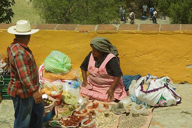 Time-less-image Cholula Market
