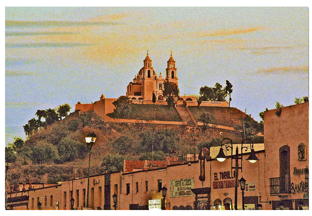 Time-less-images Cholula Mexico Sunset