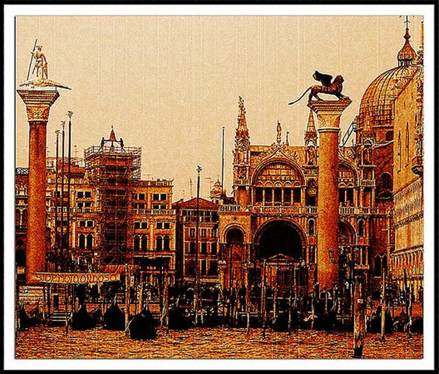 Time-less-images Venice Daguerreotype