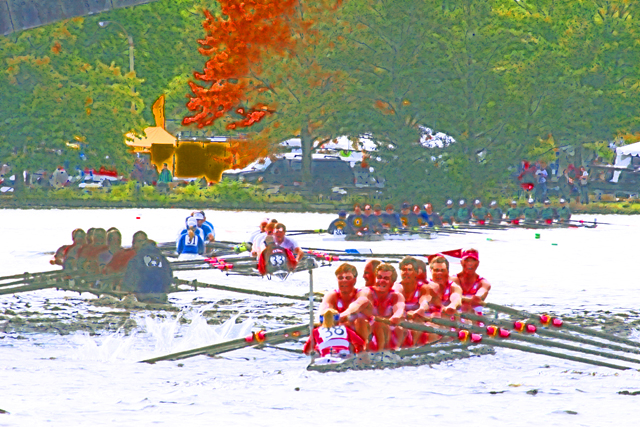 Time-less-image Rowing Regatta