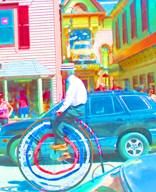 Time-less-image bicycle