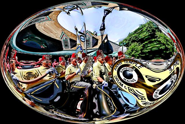 Time-less-image Bar Harbor Parade