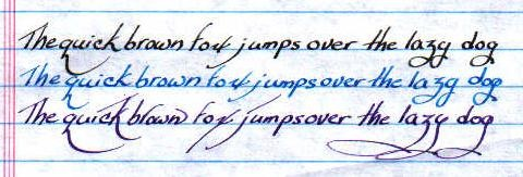 Palmer handwriting handwriting