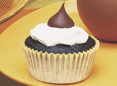Hershey Kisses Cupcake